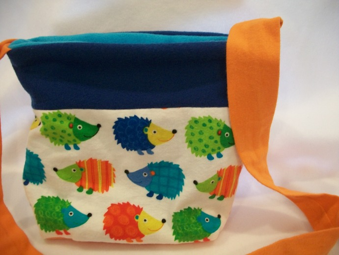 COLORFUL CIRCUS HEDGEHOGS Bonding Bag, Cuddle Sack, Travel Pouch for Hedgehogs