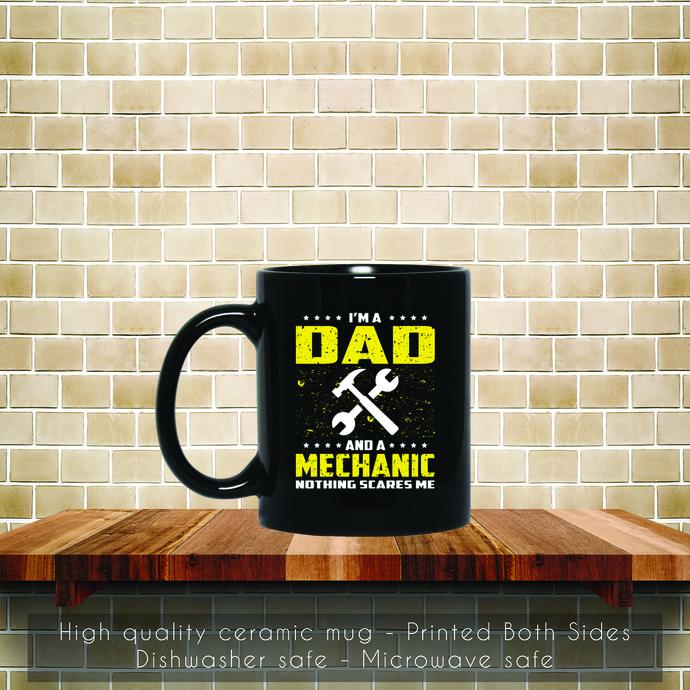 Mechanic Dad Funny, Fathers Day Coffee Mug, Tea Mug, Fathers Day Mug, Coffee