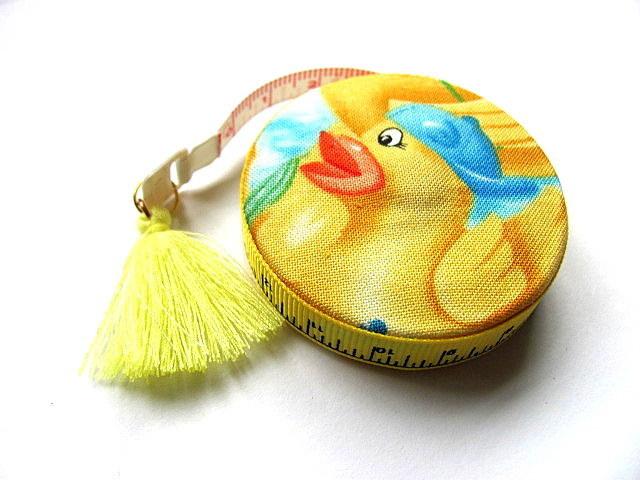 Retractable Tape Measure Rubber Ducks Measuring Tape