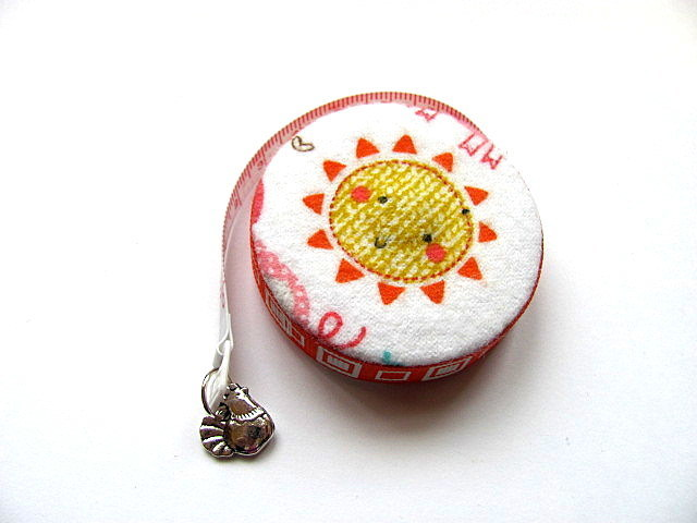 Retractable Tape Measure  Chickens and The Sun Measuring Tape