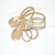 Vintage Goldtone with Clear Rhinestone Brooch