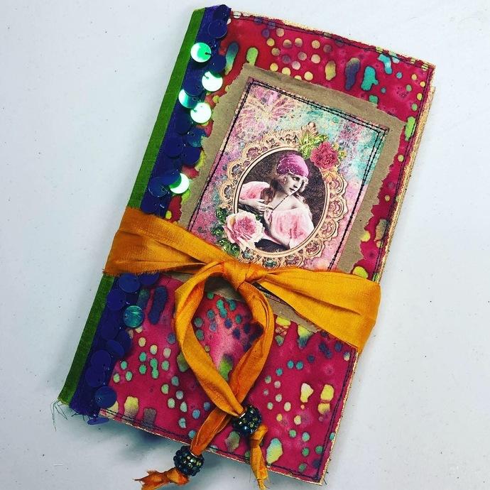 Gypsy Girl Notebook # 4