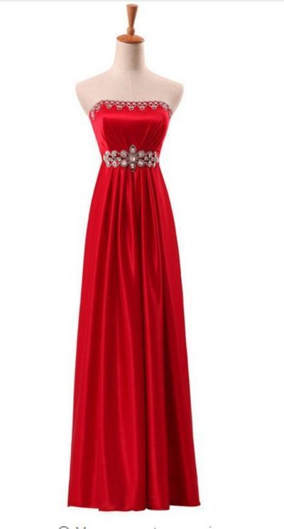 newly arrived elegant dress , formal zipper crystal dress ,floor length evening