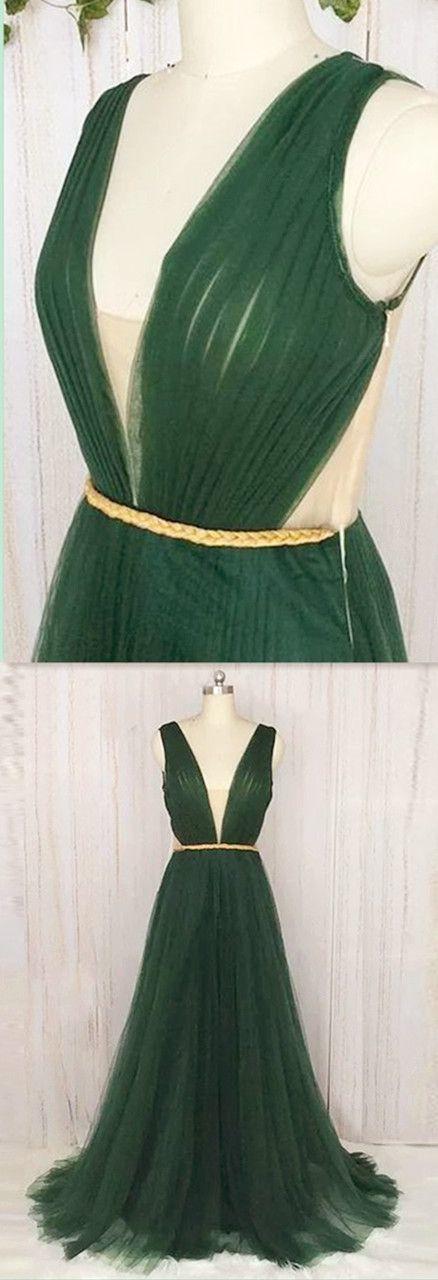 V-Neck evening dress,sexy ball gowns, custom made ,new fashion,Elegant 2018 Prom
