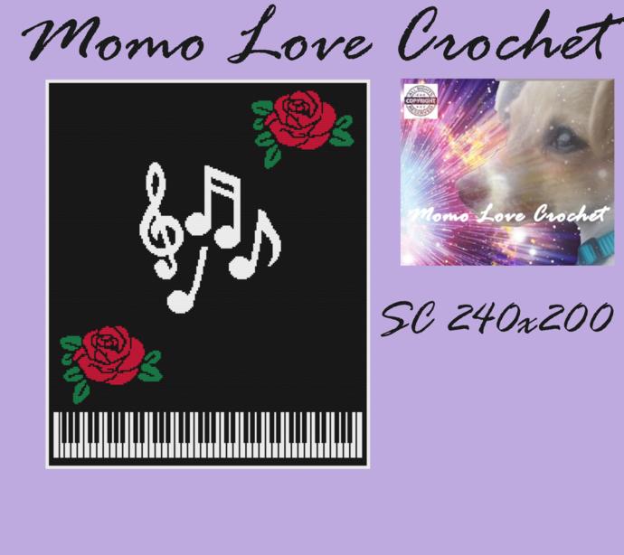 Piano & Roses SC 240x200