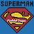 Superman Large Throw Pillow Pattern - SC - 70x70 - Graph w/Written