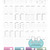"""B6 Travelers Notebook Inserts- Mega Bundle"" Printable Download"