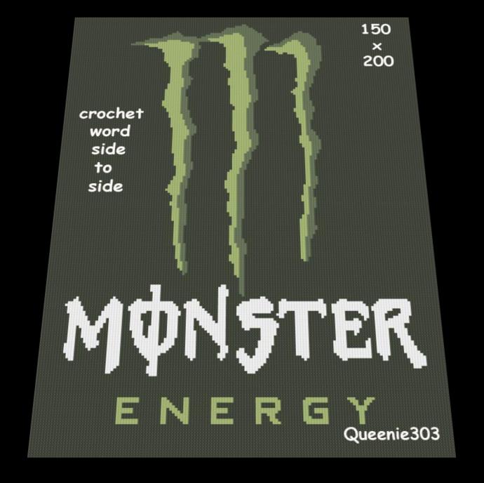 Monster Energy 150x200
