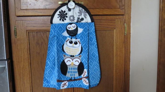 Owl Kitchen Towel Hanging Kitchen Towel Hanging Hand Towel Hanging Tea Towel
