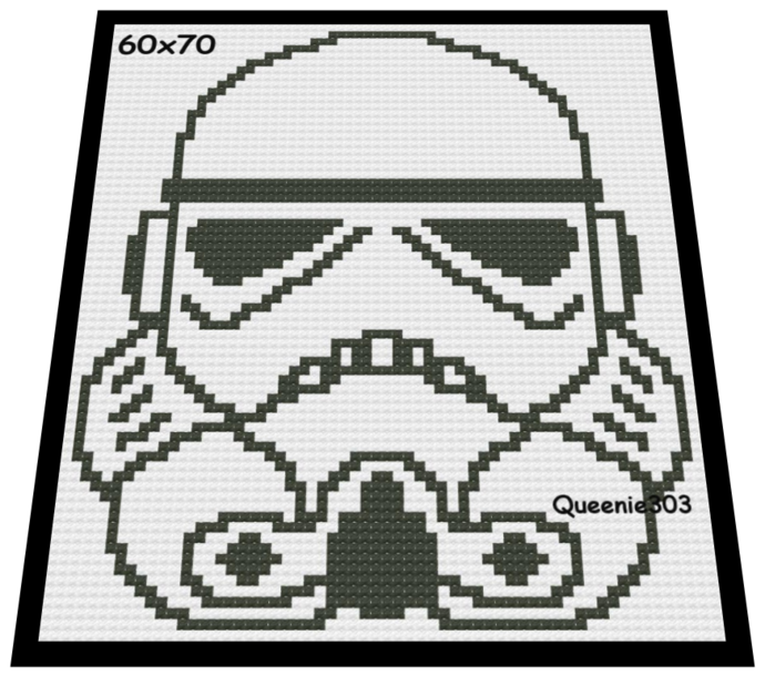 Stormtrooper 60x70
