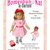 All Star Player Vintage Baseball Uniform 18 Inch Doll Clothes PDF Sewing Pattern