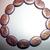 Egyptian Cat Czech glass beads