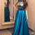 Charming Prom Dresses,Blue Prom Dresses,Long Prom Dress,A line Prom Gown,Formal