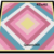 Diagonal Square Pinks 42x42
