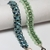 Beading Tutorials, Kanchana Bracelet, Beadweaving Patterns, Bracelet Patterns,