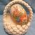 Macrame basket Ivory yarn basket Easter basket Easter decoration Holiday