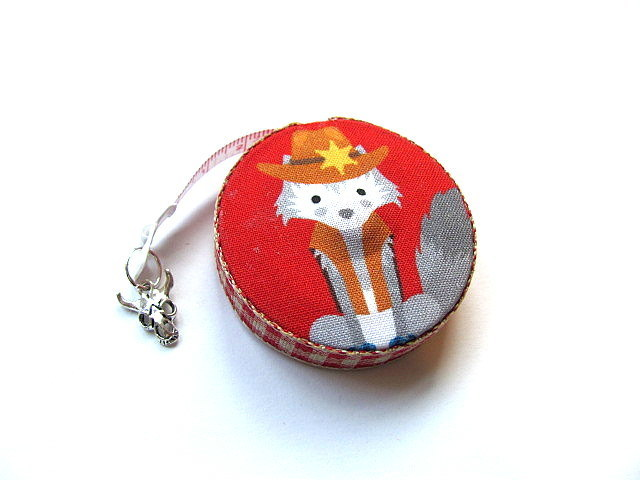 Tape Measure Dressed Coyotes Small Retractable Measuring Tape