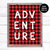 Buffalo Plaid Adventure Printable Art | Playroom Nursery Decor | Child's bedroom