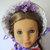 1850s Bonnet 18 Inch Doll Clothing Hat PDF Digital Download Sewing Pattern