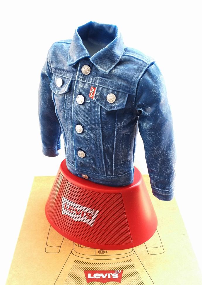 Levi's Denim Jacket 3D Figure Portable Bluetooth Speaker - Levi Strauss &  Co - New In Box