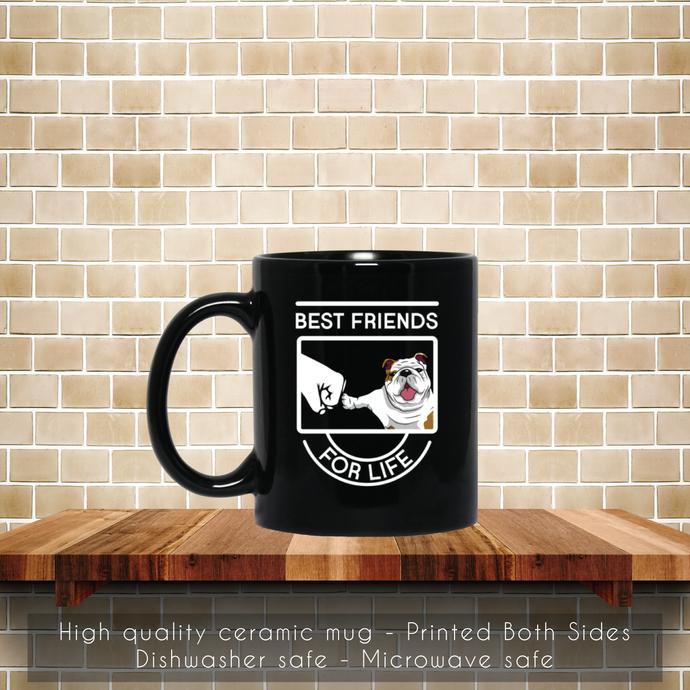 Pug Best Friend For Life Coffee Mug, Best Friend Mug, Tea Mug, Pug Best Friend,