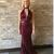 Princess Halter Sleeveless Floor Length Beading Prom Dresses BD2211