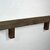 "Recycled wood wall shelf 27"" wide 3.25"" deep"