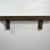 "Recycled wood wall shelf 22"" wide 3.5"" deep"