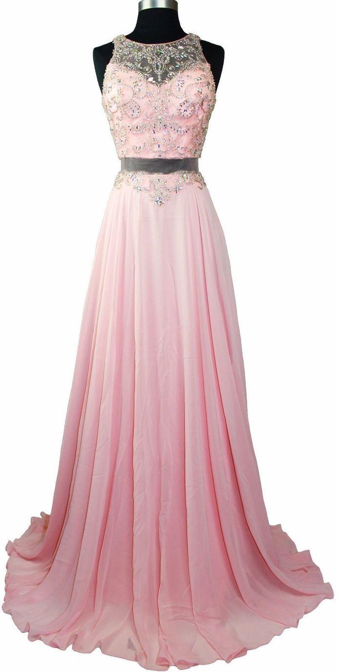 Charming Beading Prom Dress,Long Prom Dresses,Prom Dresses,Evening Dress, Prom