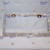 Crystal License Plate Frame made with Swarovski Crystal Rhinestones, Car Swag,