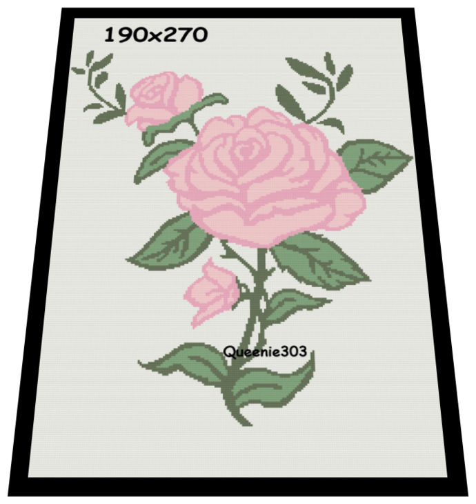 The Pink Rose 190x270