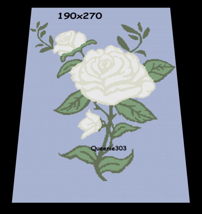 The White Rose 190x270