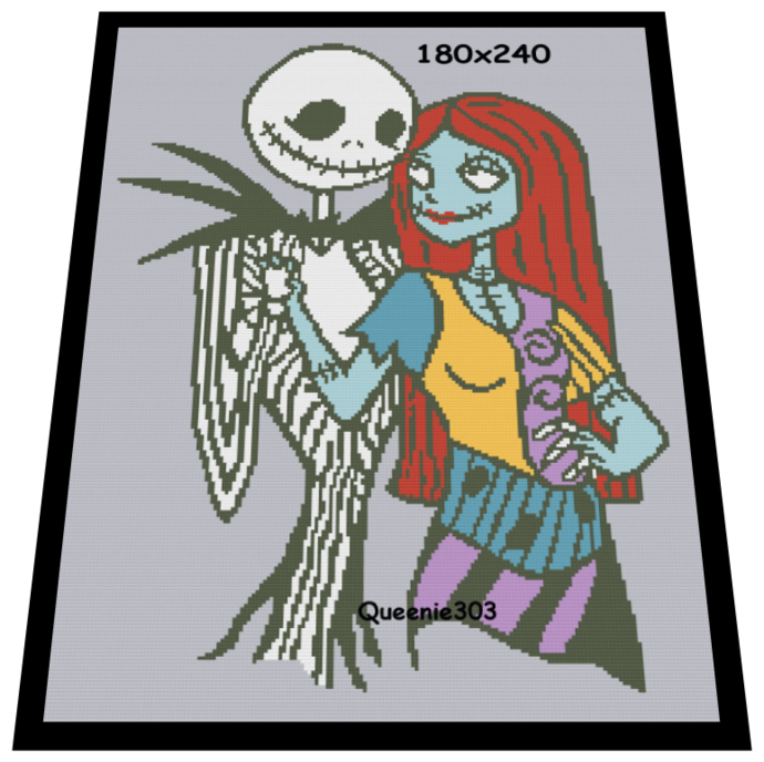 Jack and Sally 180x240
