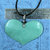Awesomely Enormous Aventurine Heart Pendant DESTASH ITEM