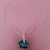 Handmade necklace (material for pendant: polymer clay - product 51/2019)