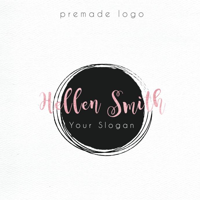 Personalized logo, Business Card custom, Logo Design, Premade logo, Colorful