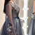 Plus Size Formal Prom Dresses Long Sleeve Lace Appliqued Beads Celebrity Party