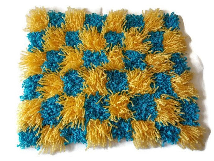Pillow Case Blue And Yellow, Colorful pillow case