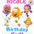 Bubble Guppies Birthday Girl Printable Iron On Transfer