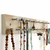 White Wood Jewelry Rack, Necklace Hanger, for Earrings, Necklaces and Bracelets,