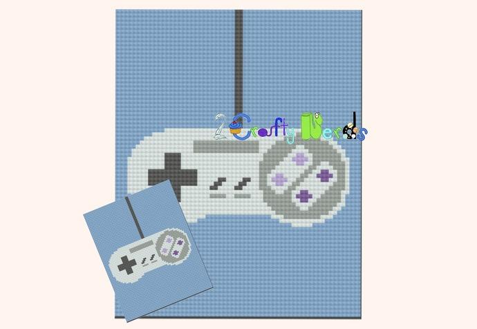 Super Nintendo Controller Graph With C2C Written