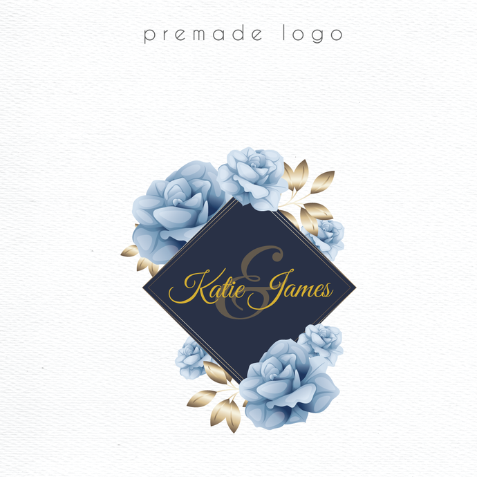 Logo Design, Premade logo, Personalized logo, Business Card custom, Watercolor