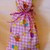 Fabric gift bag, Easter gift bags, Party bags, Recyclable bags, Eco-friendly