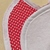 Baby Bib, Red and white hearts, Cotton Bib, Gift for baby, Baby accessory, Baby