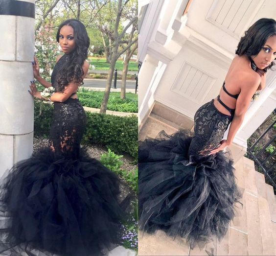 Illusion Prom Dress,Backless Prom Dress,Mermaid Prom Dress,Fashion Prom
