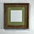 Wooden picture frame with sage green 6x6 mat 10x10 without mat 20 mat colors