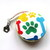Measuring Tape Rainbow Dog Bones Paws Retractable Tape Measure