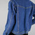 90s Bill Blass Jean Jacket Vintage, Medium Wash Denim Trucker Style Jacket,