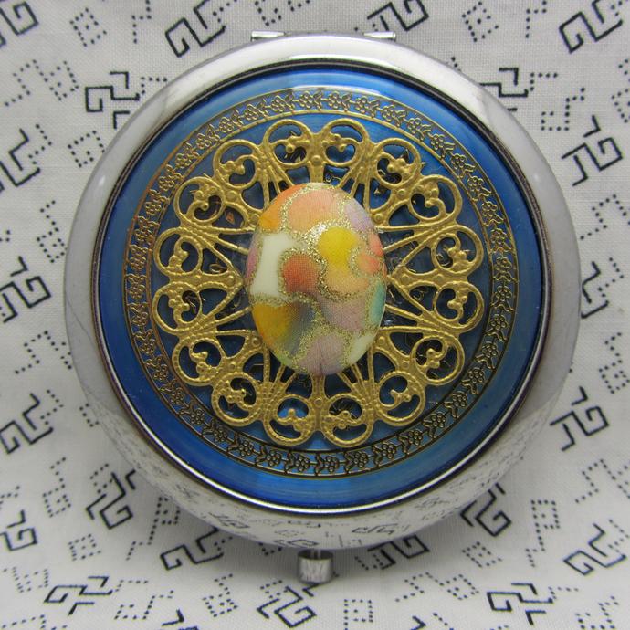 Compact Mirror Makeup Mirror Pocket Mirror Bridesmaid Maid of Honor Gift Bridal