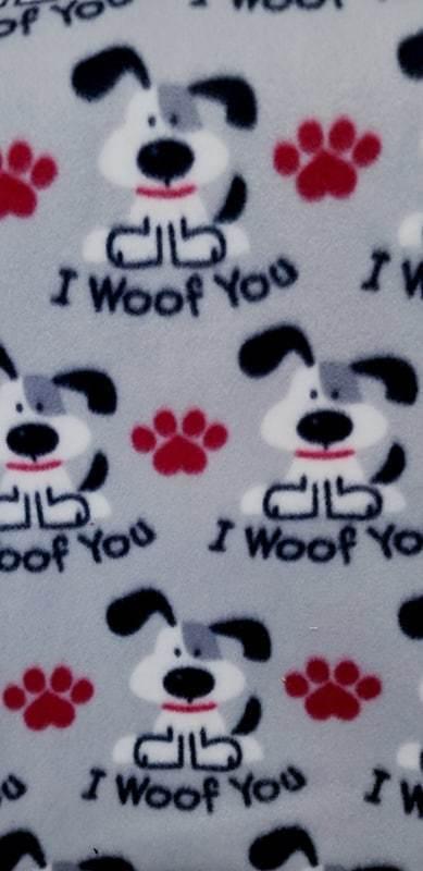 Paw Print Pants